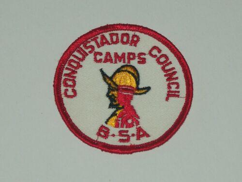 Conquistador Council Camps BSA patch