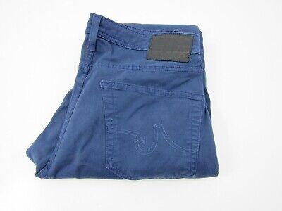 AG Adriano Goldschmied Matchbox Slim Straight Jeans Men's Sz 33 Blue Denim Pants
