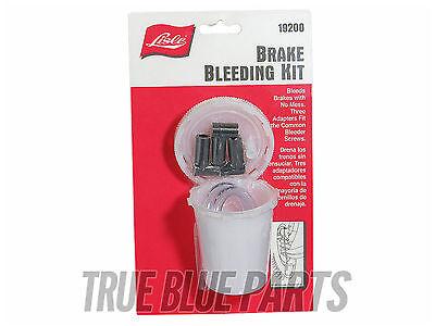 Lisle Tools 19200 One Man Brake Bleeding Kit