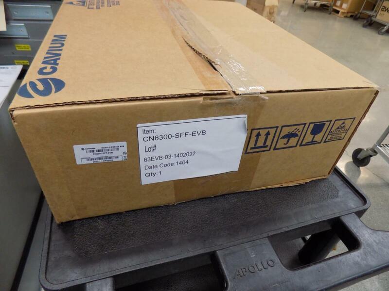 NEW CAVIUM OCTEON II CN6300-SFF-EVB EVALUATION BOARD KIT 63EVB-03-1402092