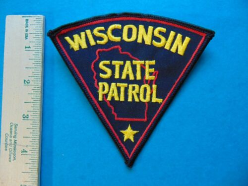 WISCONSIN STATE PATROL POLICE PATCH