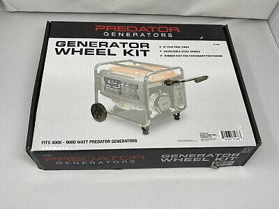 Predator 8 In. Never-flat Generator Wheel Kit Fits 4000 - 9000 Watt Predator Gen