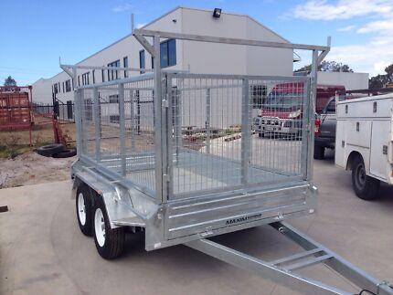 Maxim HEAVY DUTY TANDEM 12X6 10X6 10X5 9X5 8X5 box trailer GALVANISED  Kallangur Pine Rivers Area Preview