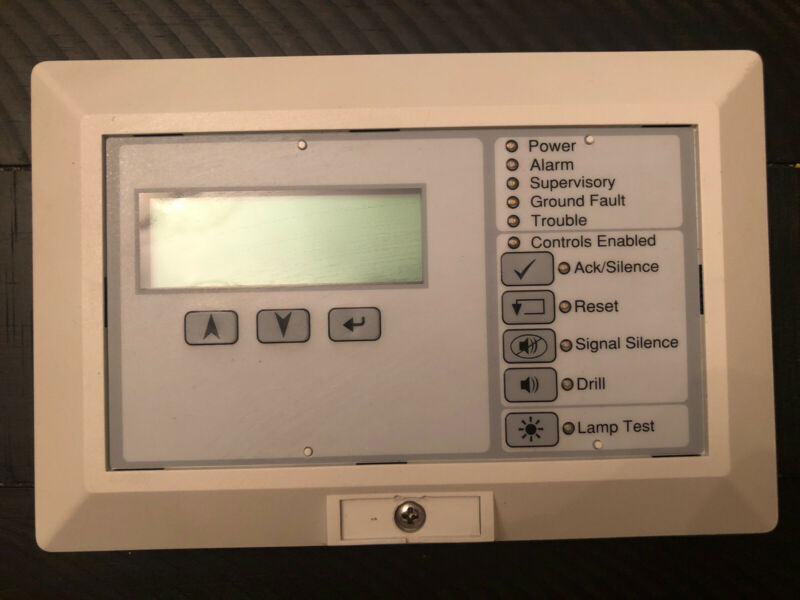 EST Edwards LCD Fire Alarm Annunciator RLCD-C (pre-owned)