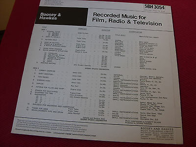 Boosey & Hawkes  SBH 3054 Sound Studio Orchestra  NM  Library LP