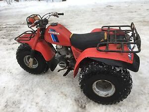 1983 Honda big red 200cc TRADE for SLED or? Trade only no cash