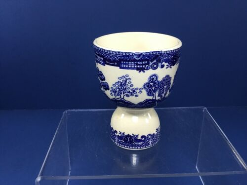 Vintage, Blue Willow Double Egg Cup, Made in Japan