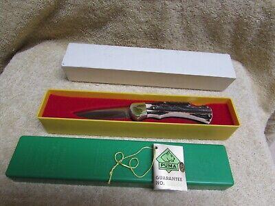Puma 745..4 star stag handle folding knife Germany