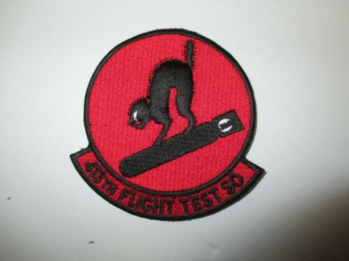 b8507 US Air Force Groom Black Ops 413th Flight Test SO Squadron Bombcats IR24D