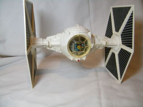STAR WARS VINTAGE1978 IMPERIAL TIE FIGHTER IN WHITE  WITH WORKING SOUND