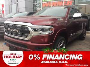 2019 Ram All-New 1500 LIMITED | NAV | SUNROOF | HEATED SEATS |
