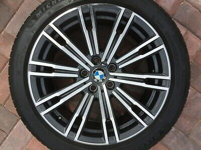 """BMW 3 SERIES G20 G21 18"""" STYLE 790M FRONT 7.5J ALLOY WHEEL & TYRE 8089890 OEM #3"""