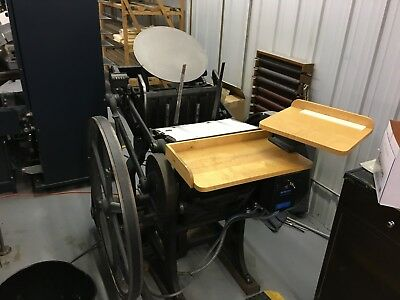 Chandler Price 10x15 Letter Press