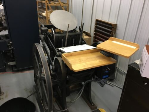 Chandler Price 10x15 Letter press