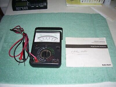 Radio Shack Vom Analog Multimeter Range Doubler 22-215