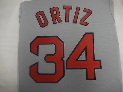 Boston Red Sox Away Jersey - 9529 BOSTON RED SOX Number KIT ROAD AWAY GRAY JERSEY ANY NAME OR NUMBER