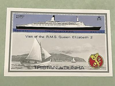1979 TRISTAN DA CUNHA ISLAND. QUEEN ELIZABETH II #259  unused Lot C01924