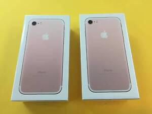 New Sealed IPhone 7 256 GB  ROSE GOLD Belmore Canterbury Area Preview