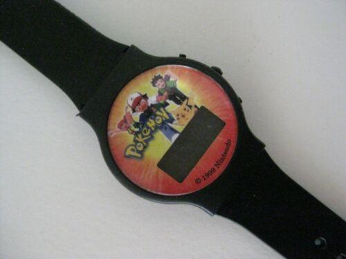 Vintage Pokemon Wristwatch New - never used Digital 1999