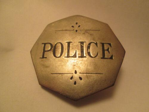 1800S BOSTON,MA. POLICE OBSOLETE BADGE ALLEN BROS. RARE TO FIND