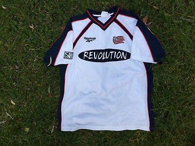 59f87c876 New England Revolution 1998/1999 Home football shirt M JESEY REEBOK USA MLS
