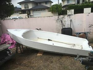 4m fibreglass boat and 3.3hp motor Hope Island Gold Coast North Preview
