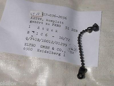 Sicherungskette  für Bundeswehr Fernglas ;  Ersatzteil für FERO 51