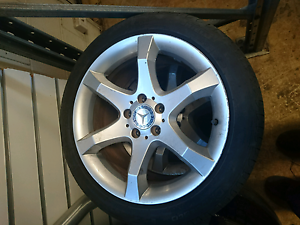 2010 Mercedes clc200 17 inch wheels Woodridge Logan Area Preview