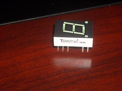 Tlg342t Toshiba  7-segment Green Led Display Common Cathode 2 Pcs