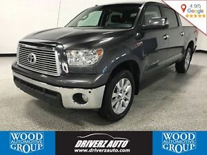 2013 Toyota Tundra Limited 5.7L V8 LIMITED TRIM, LEATHER, FIN...