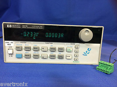 Agilent Hp Keysight 66311b Dc Source Power Supply 15v 3a Load Tested