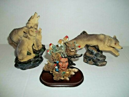 Wolf Figurine Collection of 3 K