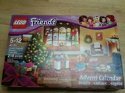 LEGO Friends Advent Calendar 41131 Christmas Legos new open box