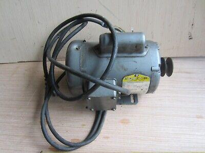 Baldor Motor 1 Ph 13 Hp 1725 Rpm 12 Shaft