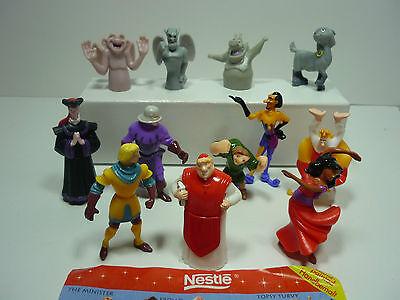 """Nestle/ """"Der Glöckner von Notre Dame""""  1996  Fremdfiguren Satz mit 1 Zettel"""