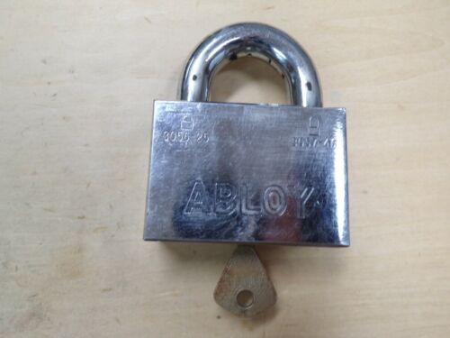 ABLOY 3056-25 Hardened Keyed Padlock 1 Key--Locksport