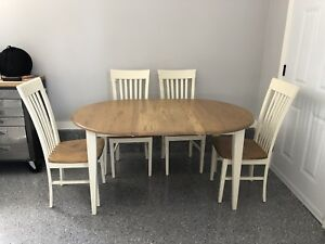 Kitchen table set-Solid wood
