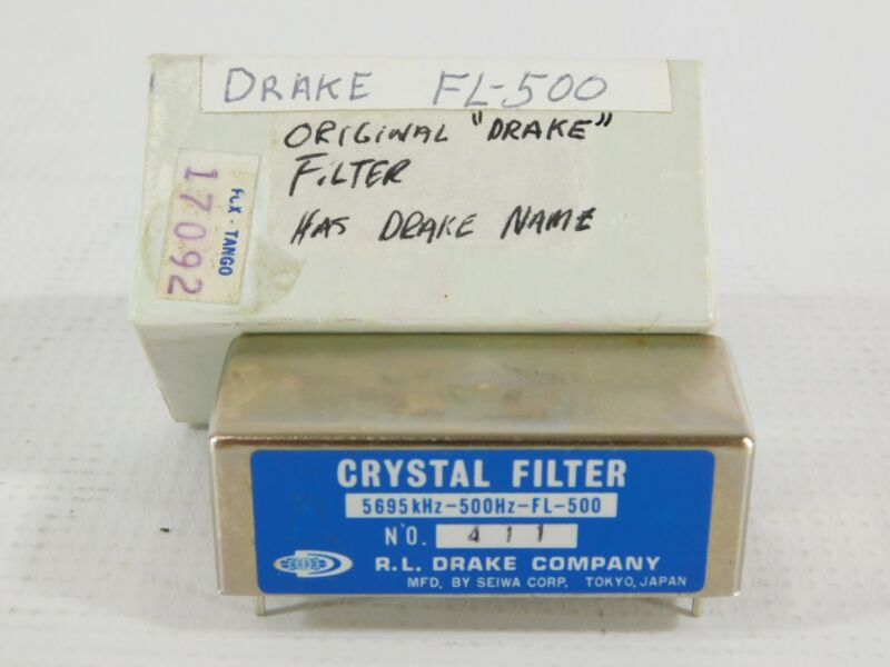 Drake FL-500 Plug-In CW Filter for R-4C Receiver w/ Box (amazing condition)