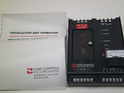 Motor Load Controls Inc. Compensator Pcr1820 Srs M Hg Fast Free Ship