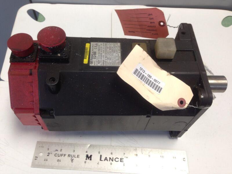 Used Ge Fanuc 12/3000,a06b-0143-b175#7076 Ac Servo Motor,3ph,155v,rpm 3000 Ea