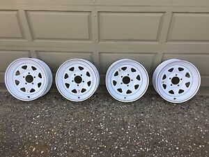 "New 15"" RV Trailer Rims"