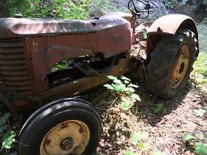 Massey Harris 201 tractor