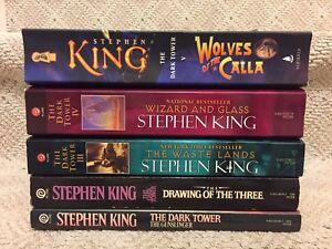 The Gunslinger series by Stephen King