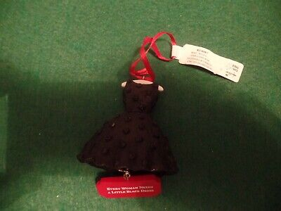 Christmas Ornament, Every Woman Needs a Little Black Dress, Hallmark, New