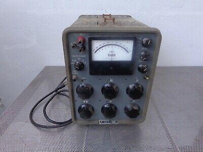 John Fluke Differential Dc Voltmeter Model 801