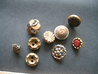Кнопки Victorian Buttons Lot of 9