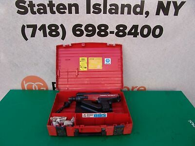 Hilti Dx36m Powder Actuated Nail Stud Gun Tool Works Great