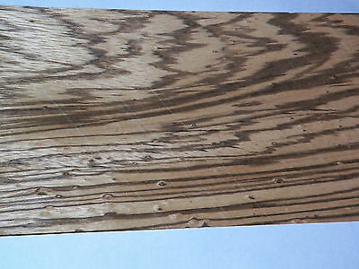 Zebrawood Raw Wood Veneer Sheets 5.25 X 45 Inches 142nd Thick   4742-11