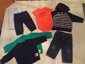 Gymboree 6-12 months - boys mix n match