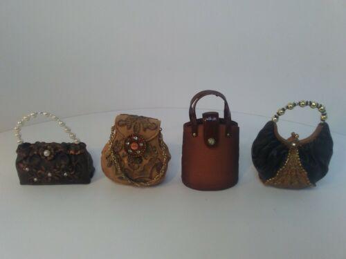 J.C.Penney Set of 4 Handbag Christmas Ornaments Old Fashioned